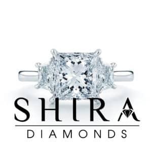 Princess Diamond Rings in Dallas Texas - Shira Diamonds - Princess Diamonds Dallas