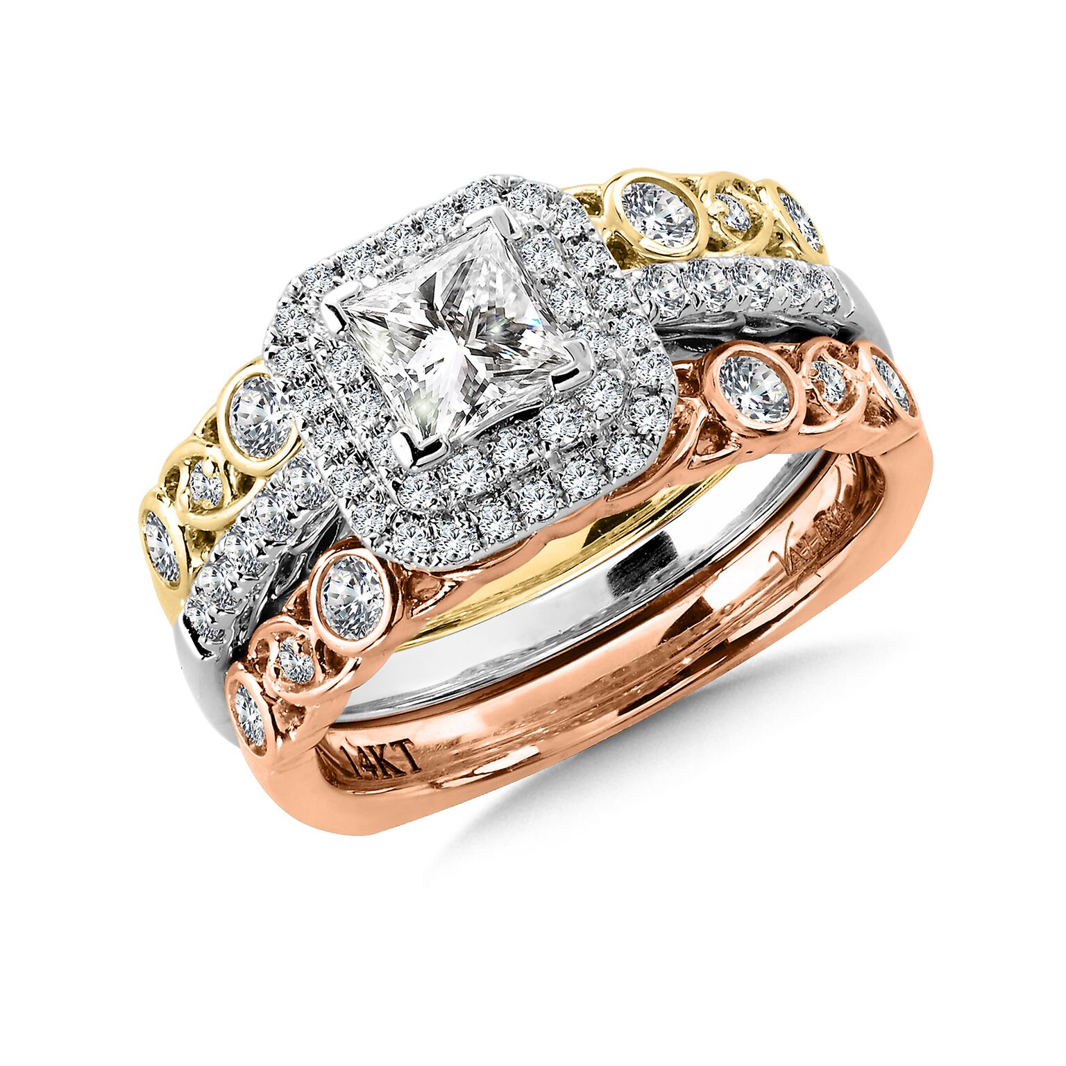 Princess Engagement Rings Dallas 2, Shira Diamonds