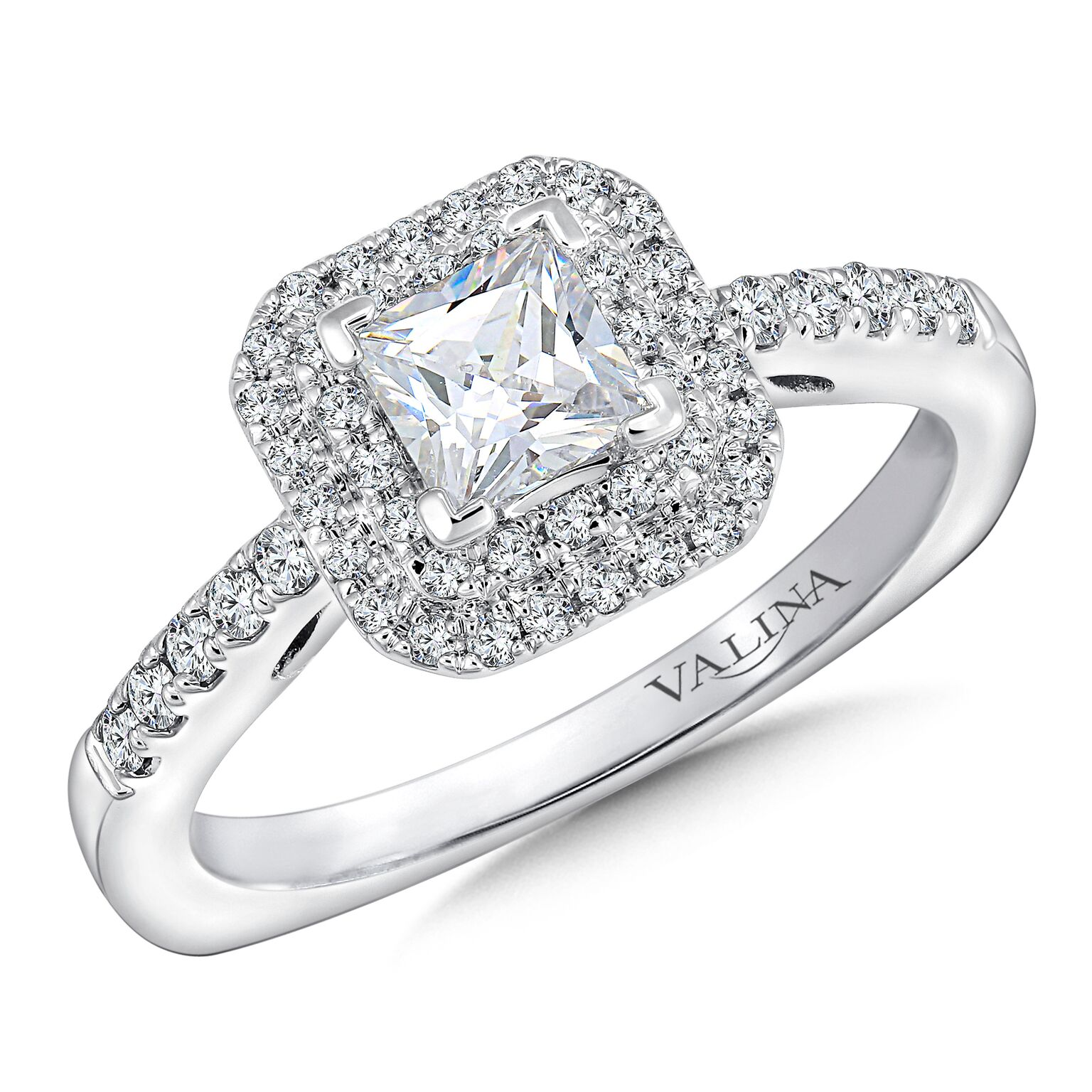 Princess Engagement Rings Dallas 3, Shira Diamonds