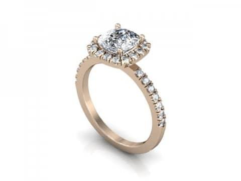 Rose Gold Diamond Rings Dallas 1