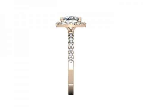 Rose Gold Diamond Rings Dallas 2