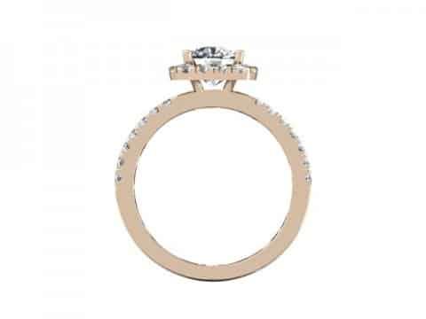 Rose Gold Diamond Rings Dallas 3