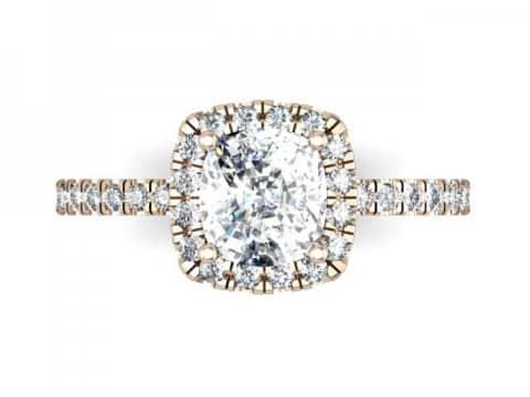Rose Gold Diamond Rings Dallas 4