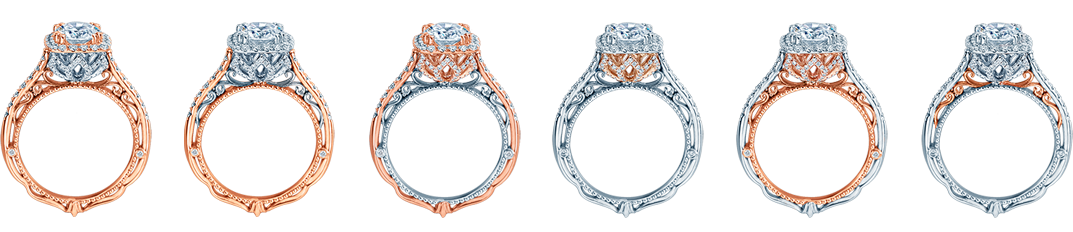 Rose Gold Diamond Rings Dallas 4, Shira Diamonds