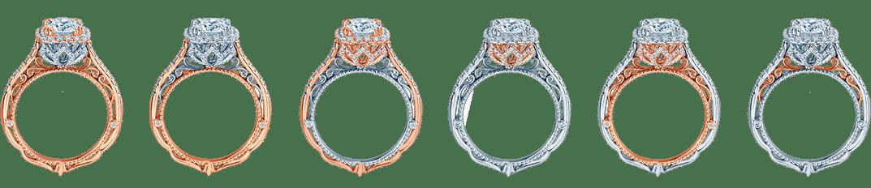 Rose Gold Diamond Rings Dallas