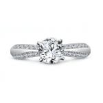 Semi Mount Ring, Shira Diamonds