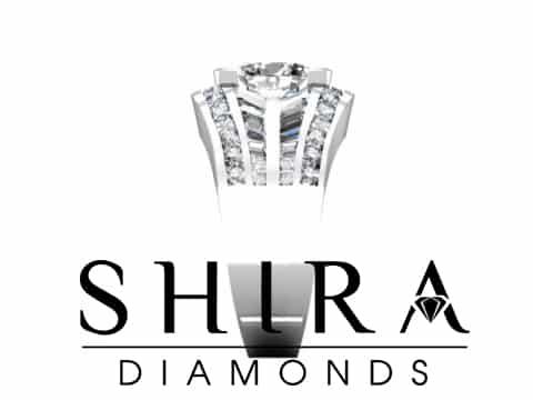 Shira Diamonds SDR Karen Custom Round Bezel Diamond Engagement Rings In Dallas Texas 2 1, Shira Diamonds