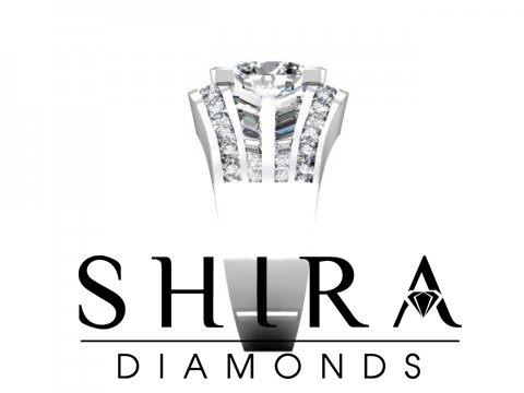 Shira Diamonds SDR - Karen - Custom Round Bezel Diamond Engagement Rings in Dallas Texas 2