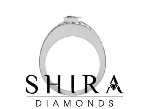 Shira Diamonds SDR Karen Custom Round Bezel Diamond Engagement Rings In Dallas Texas 3 1, Shira Diamonds