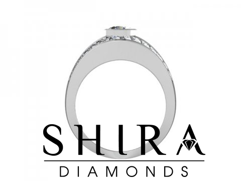 Shira Diamonds SDR - Karen - Custom Round Bezel Diamond Engagement Rings in Dallas Texas 3