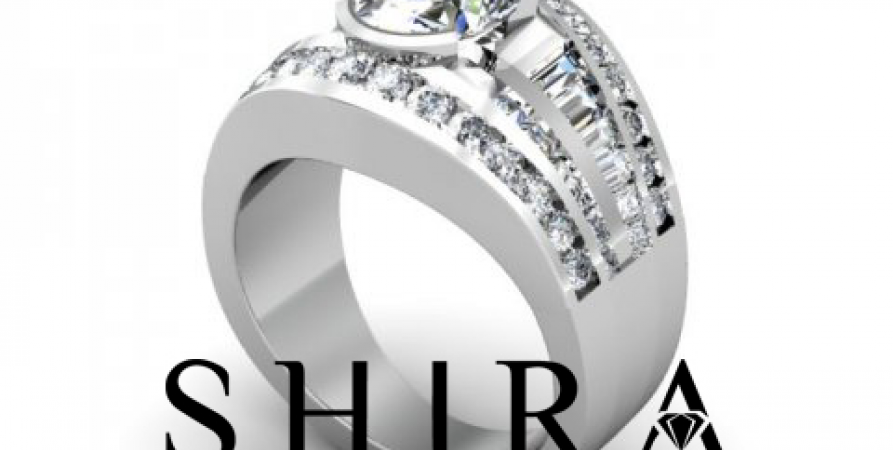 Shira_Diamonds_SDR_-_Karen_-_Custom_Round_Bezel_Diamond_Engagement_Rings_in_Dallas_Texas_1