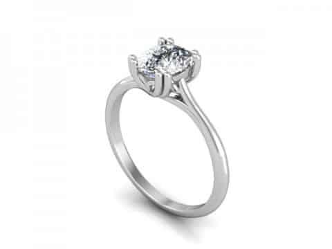 Solitaire Diamond Rings Dallas , Shira Diamonds