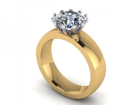 Solitaire Diamond Engagement Rings In Dallas Texas Custom Diamond Rings 1, Shira Diamonds