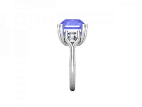 Tanzanite Diamond Ring Dallas 2