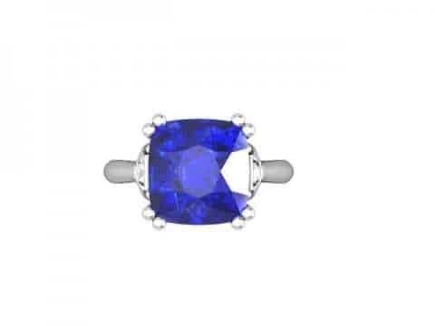 Tanzanite Diamond Ring Dallas 4