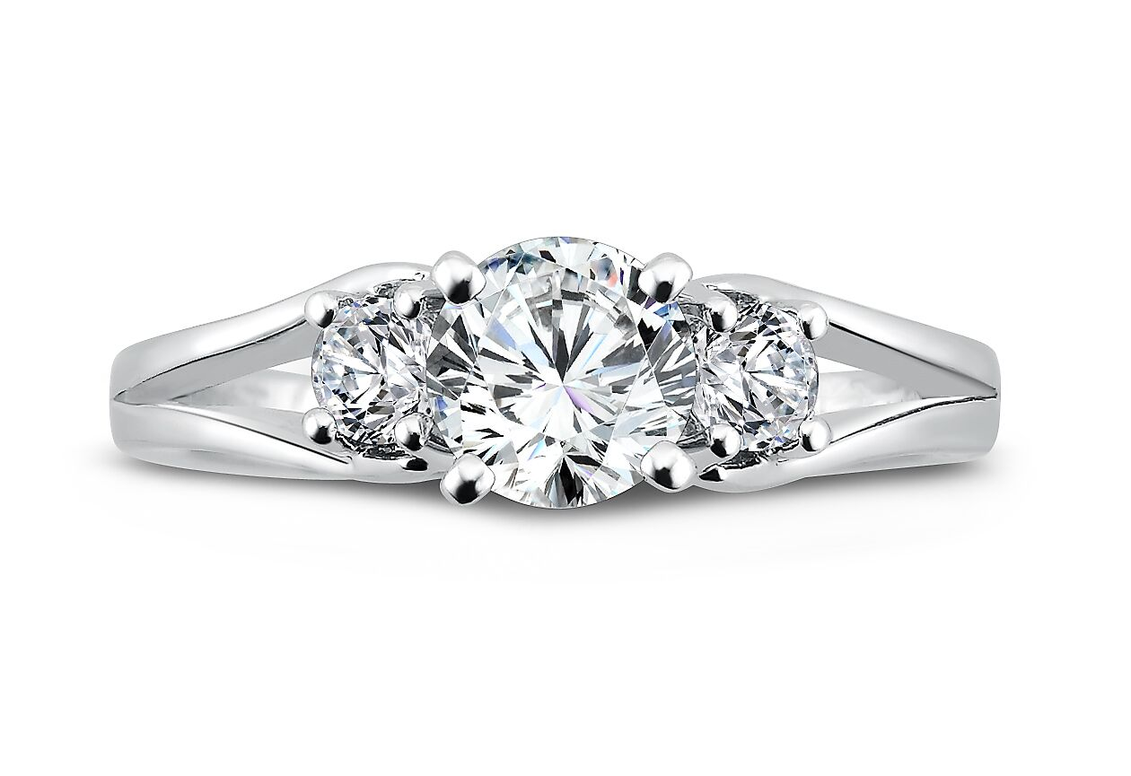 Wholesale Diamond Rings Dallas - Wholesale Split Shank Diamond Rings Dallas 4