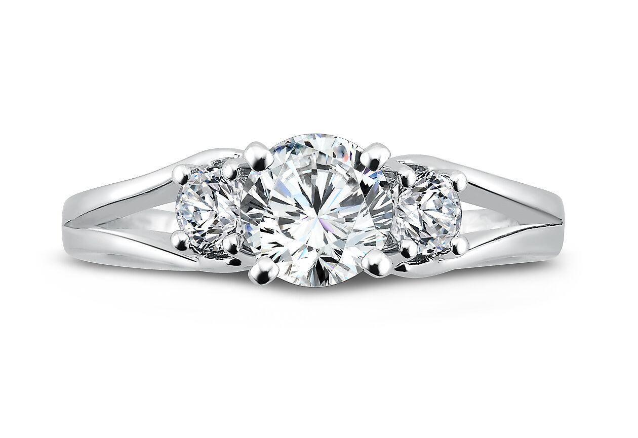Wholesale Diamond Rings Dallas - Wholesale Split Shank Diamond Rings Dallas 4