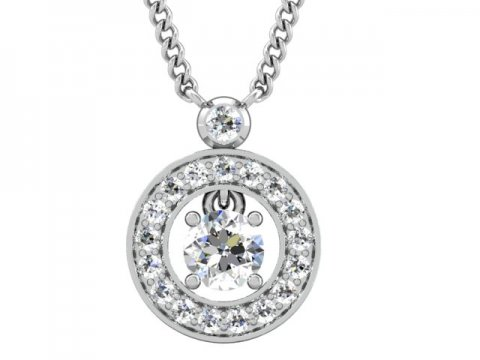 Wholesale Diamond Pendants Dallas 3, Shira Diamonds