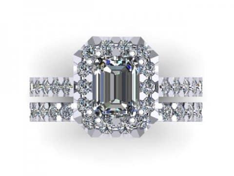 Wholesale Emerald Diamond Rings Dallas 2
