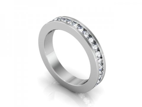 Wholesale Eternity Wedding Band Dallas 1 1, Shira Diamonds