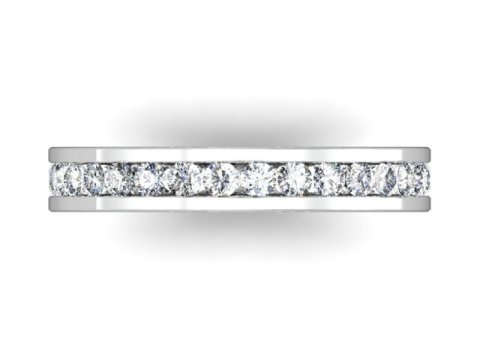 Wholesale Eternity Wedding Band Dallas 4 1, Shira Diamonds