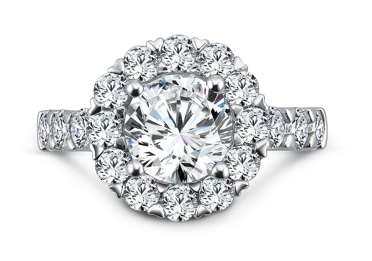 Wholesale Halo Engagement Ring