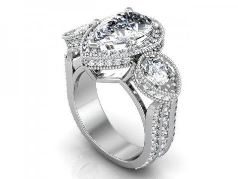 Wholesale Jewelry Arlington Texas Custom Pear Engagement Rings Dallas 1, Shira Diamonds