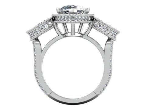 Wholesale Jewelry Arlington Texas - Custom Pear Engagement Rings Dallas 3