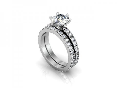 Wholesale Round Diamond Ring 1