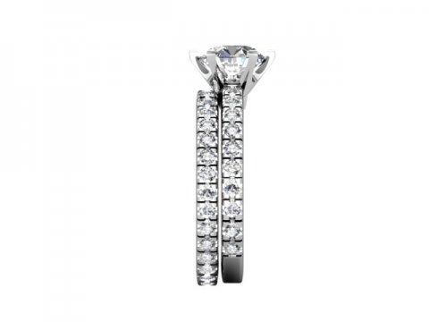 Wholesale Round Diamond Ring 2