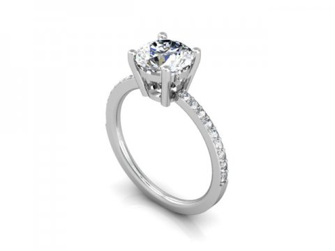 Wholesale Round Diamond Rings Dallas 1