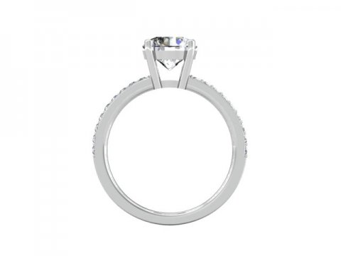 Wholesale Round Diamond Rings Dallas 3