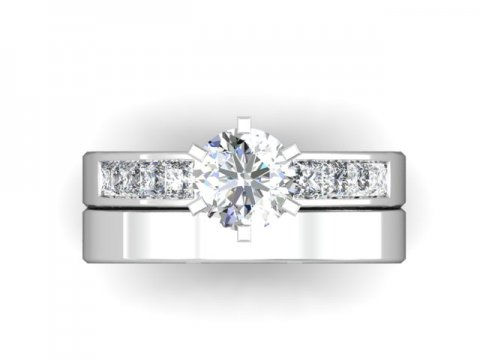 Wholesale Round Engagement Rings Dallas 4 (1)