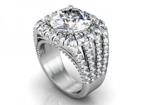 Wholesale Split Shank Diamond Rings 1 1, Shira Diamonds
