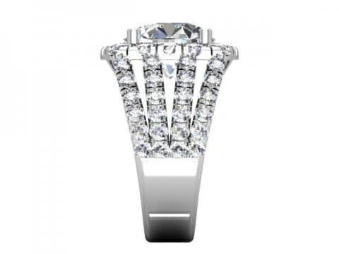 Wholesale Split Shank Diamond Rings 2