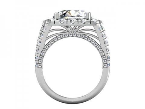 Wholesale Split Shank Diamond Rings 3 1, Shira Diamonds