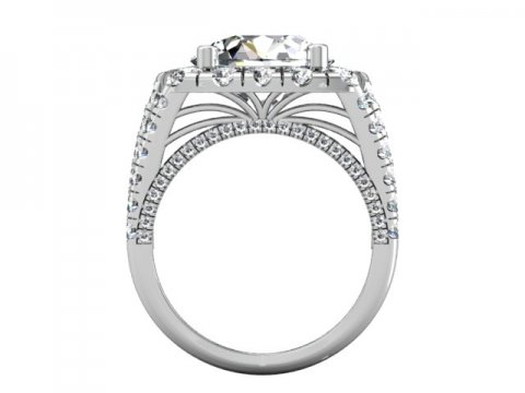 Wholesale Split Shank Diamond Rings 3