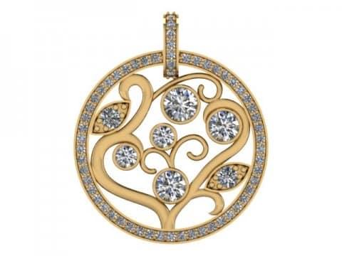custom diamond pendant dallas 4