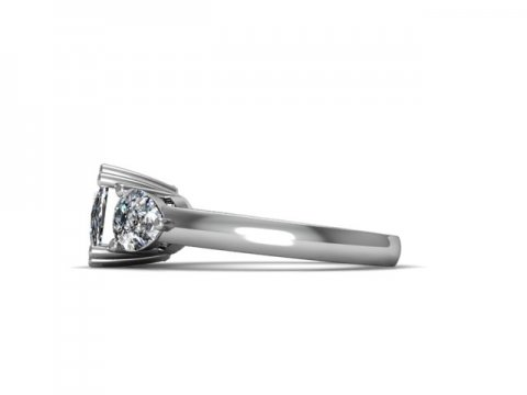 Custom Diamond Rings Bay City Engagement Rings 2 1, Shira Diamonds
