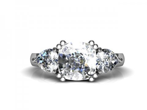 Custom Diamond Rings Bay City Engagement Rings 4 1, Shira Diamonds
