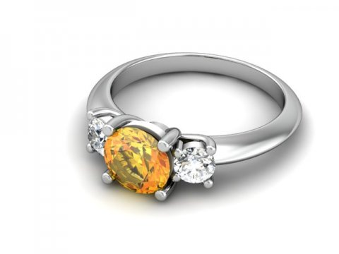 custom jewelry store - custom topaz engagement ring - dallas 1