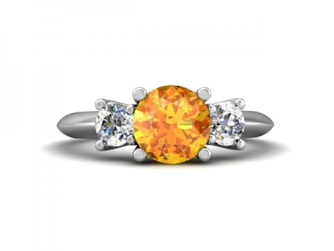 custom jewelry store - custom topaz engagement ring - dallas 4