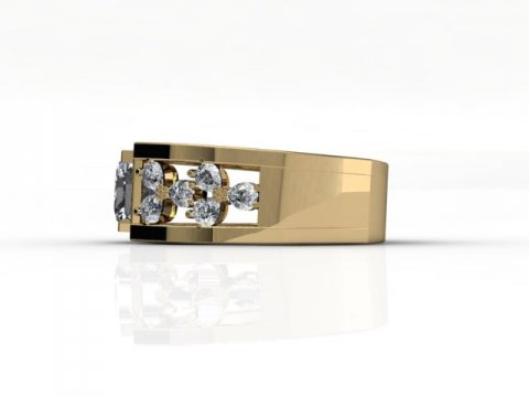 custom princess diamond ring custom bezel diamond ring dallas 2