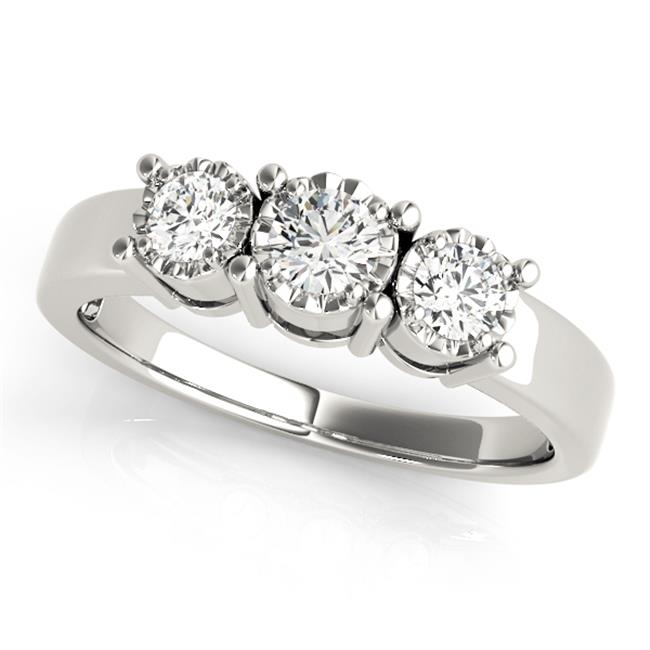 Custom Three Stone Diamond Ring 3 Carat Engagement Ring Dallas 4 1, Shira Diamonds