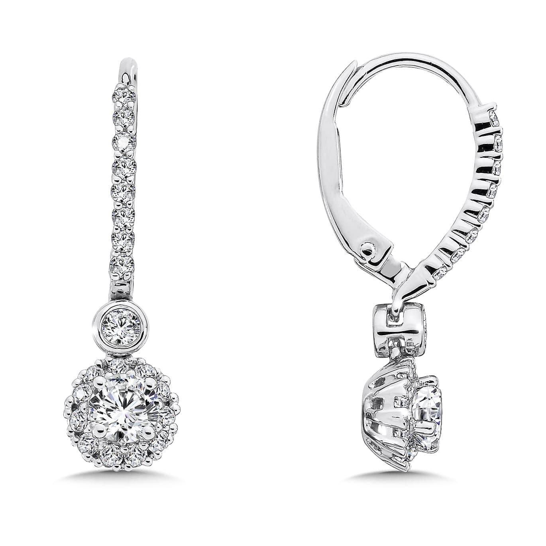 Custom Diamond Teardrop Earrings In Dallas Shira Diamonds