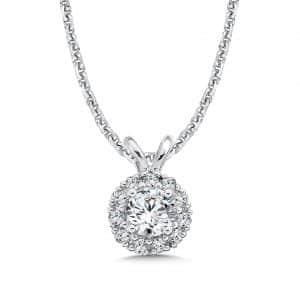 custom_round_halo_diamond_pendant_dallas