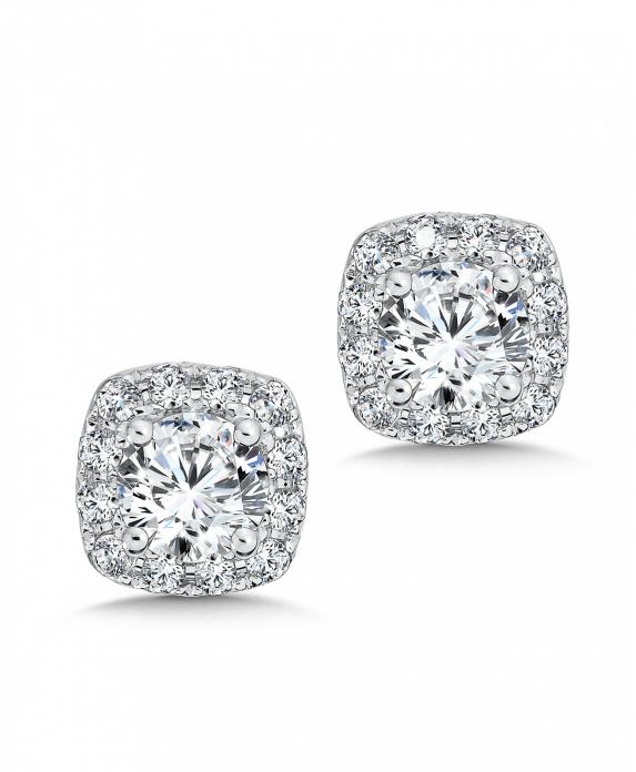 custom_square_halo_diamond_studs_dallas