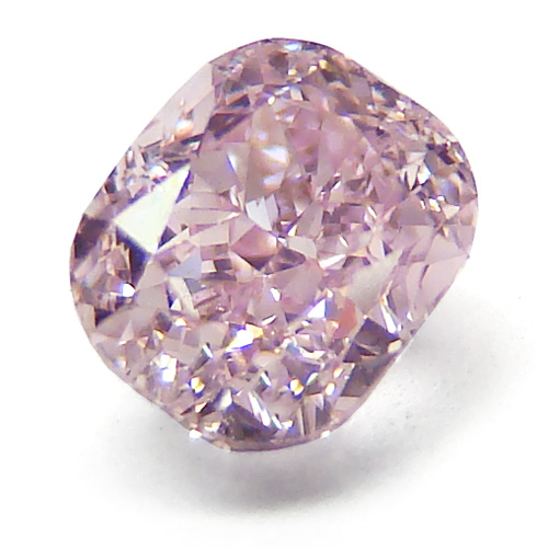 Fancy Pink Cushion Diamond Dallas 1, Shira Diamonds