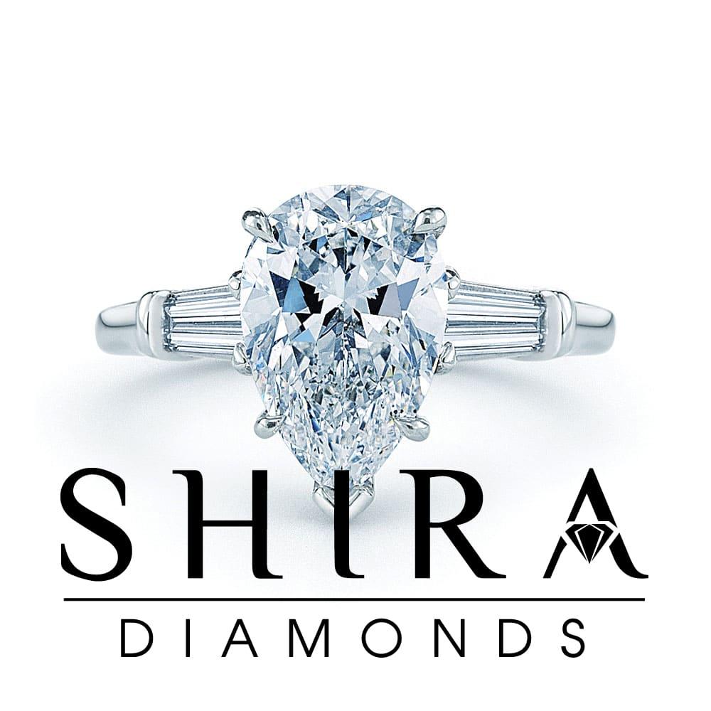 pear diamonds - pear diamond rings - dallas - shira diamonds