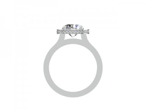 round halo diamond rings dallas 3